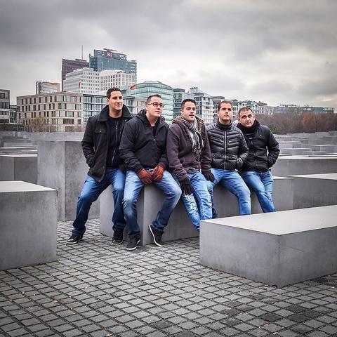 Normal adi levy  israelis in berlin  photography  2727 cm  2015