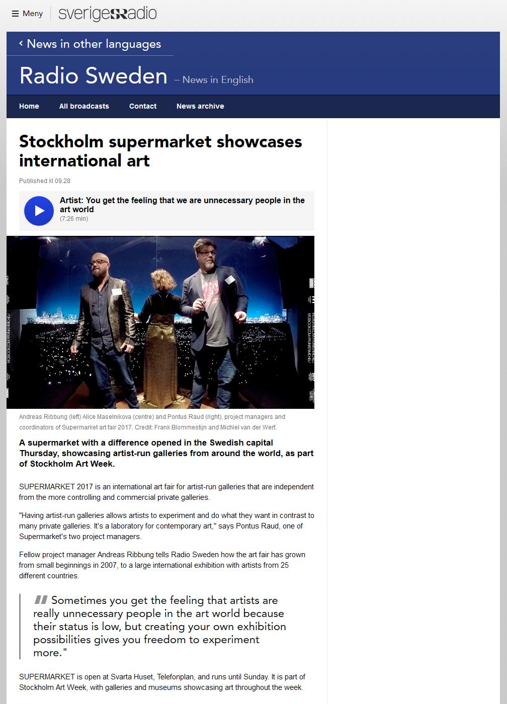Konstmassor i stockholm 19 21 2 2010
