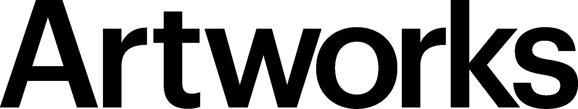 Artworks wordmark black rgb